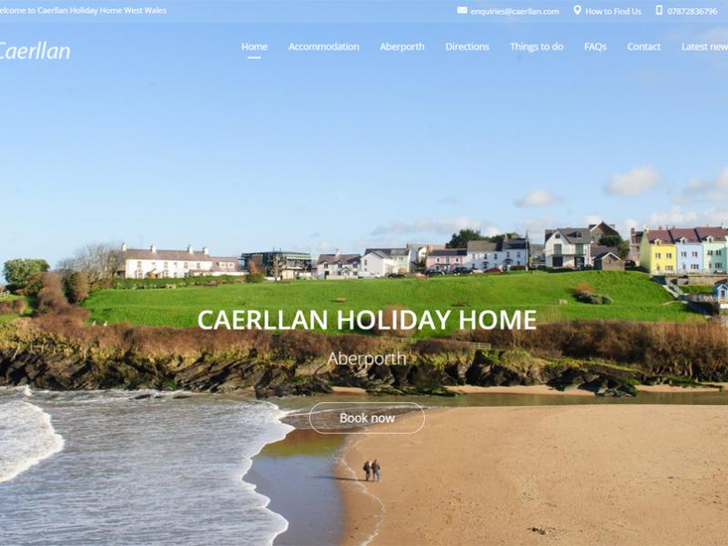 caerllan holiday home